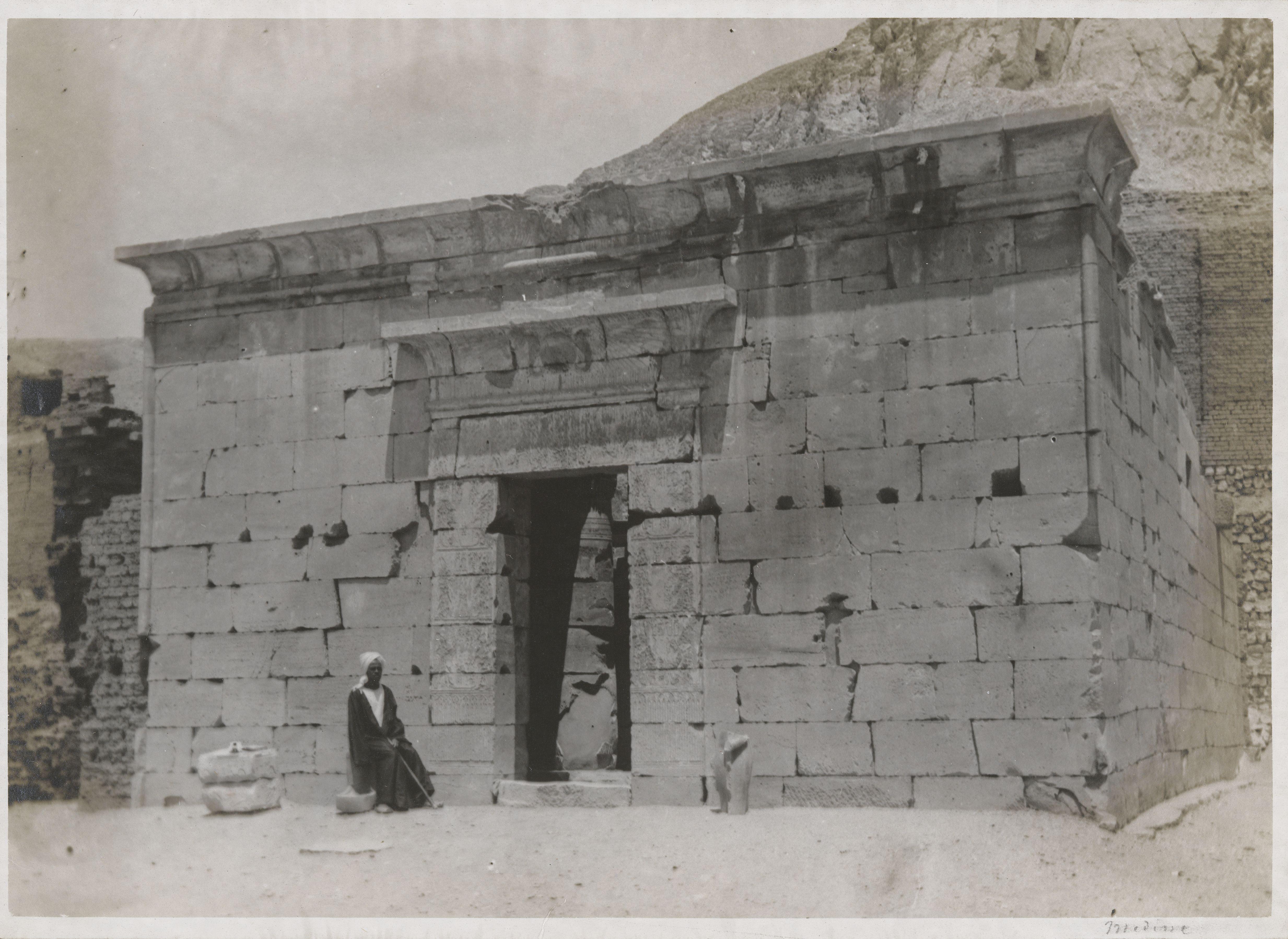 Дейр эль-Медина. Храм богини Хатхор