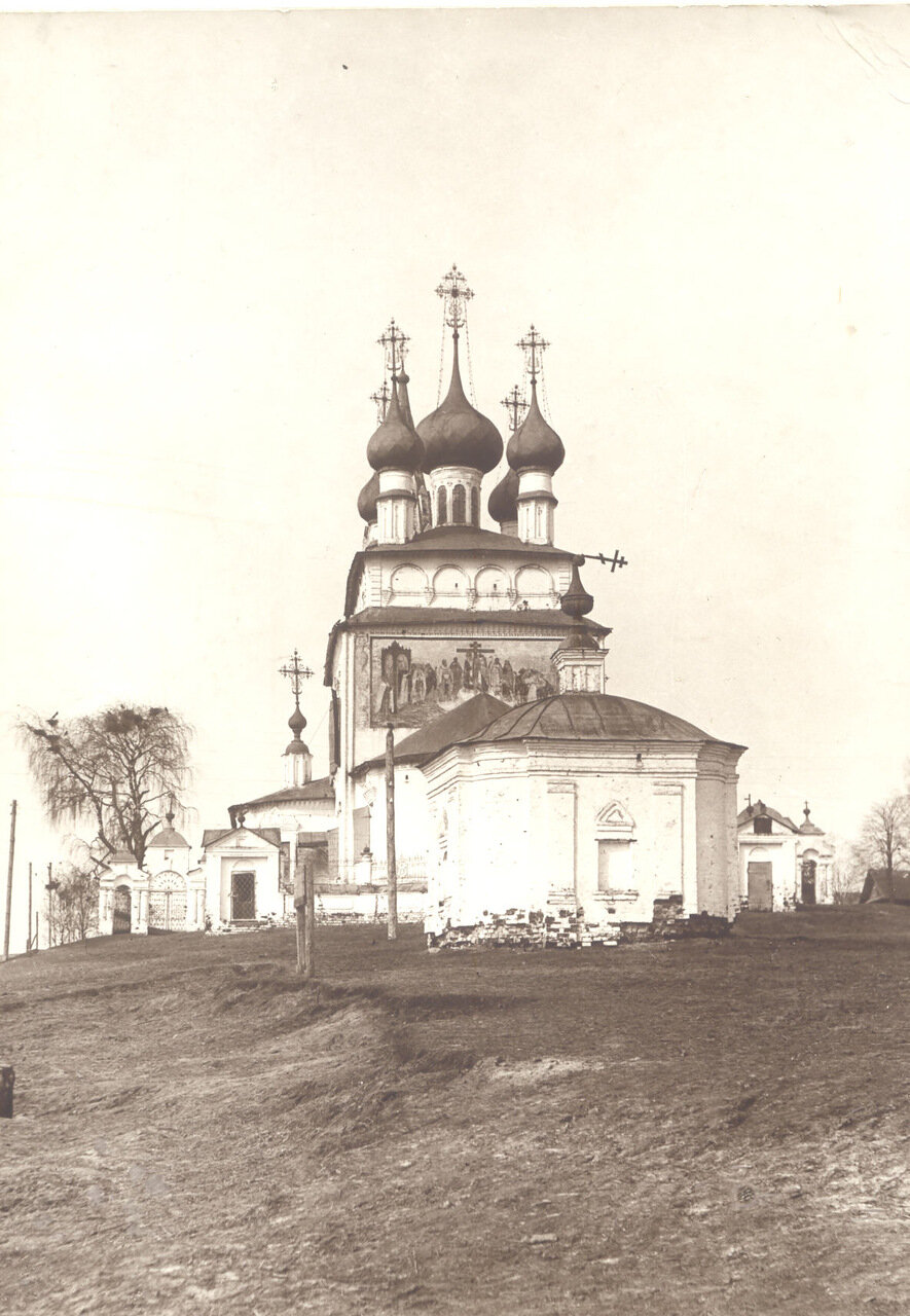 Крестовоздвиженский храм  п.Палех (Сов. период)