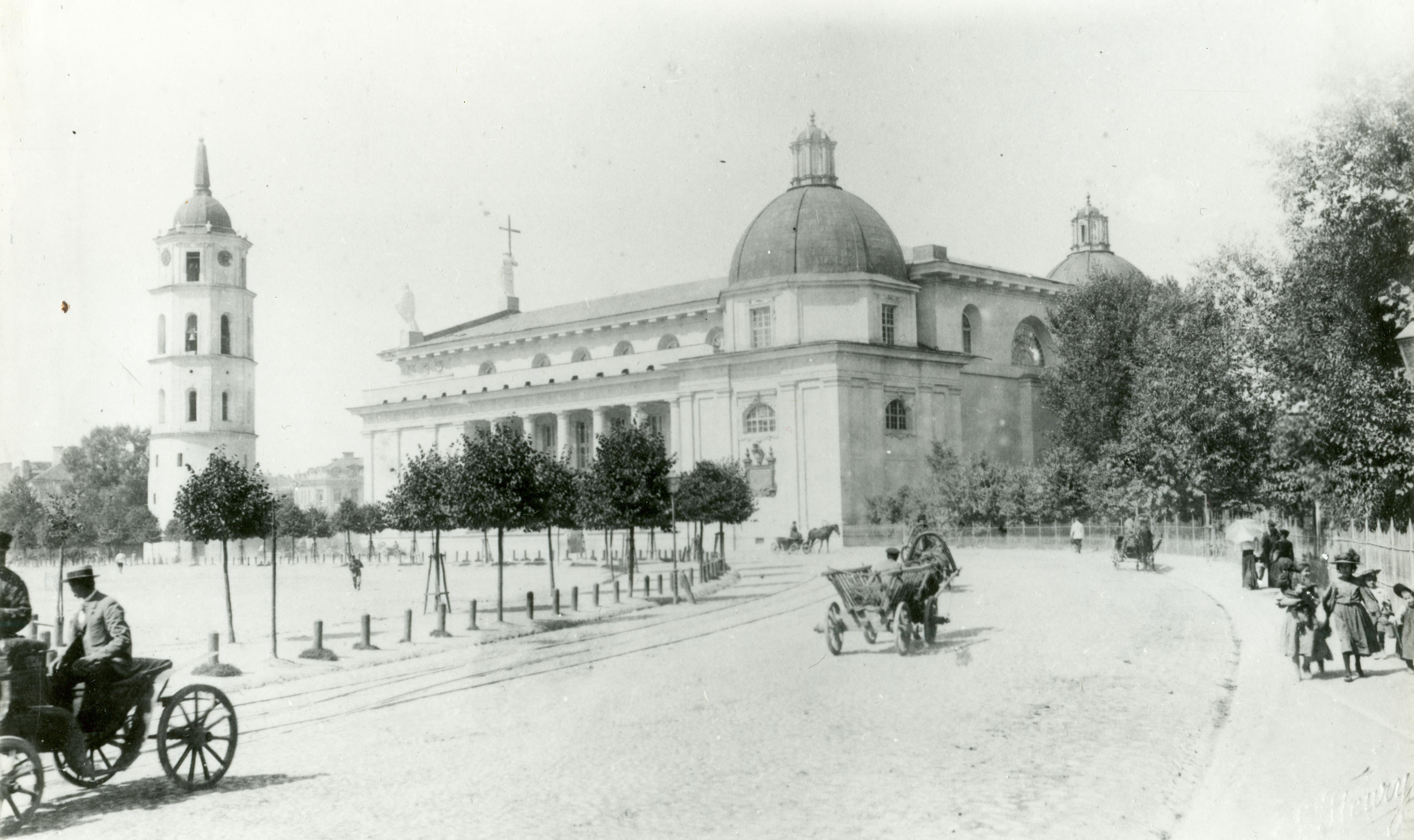 Соборная площадь с южной стороны