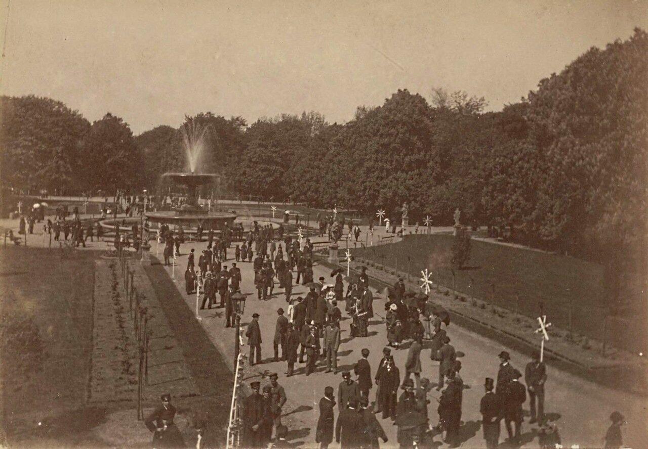 Саксонский сад 1875