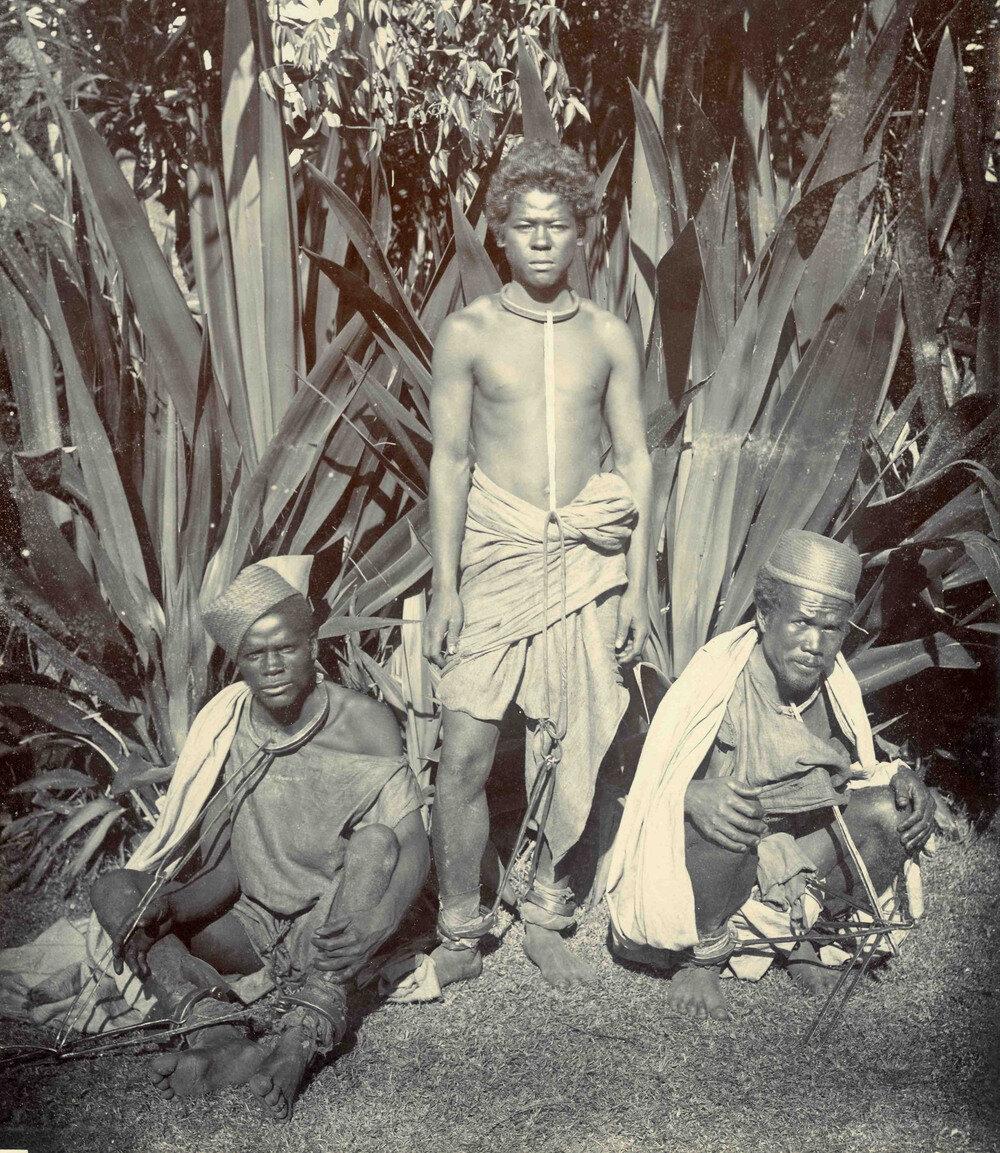 Рабы на Мадагаскаре, 1900