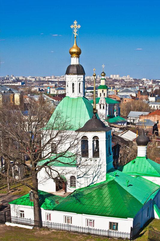 Панорама Владимира - Спасская церковь