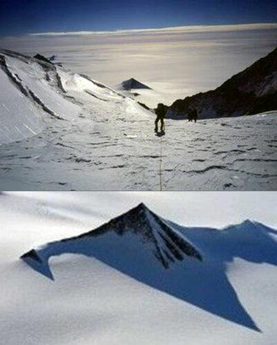 Пирамиды в Антарктиде.