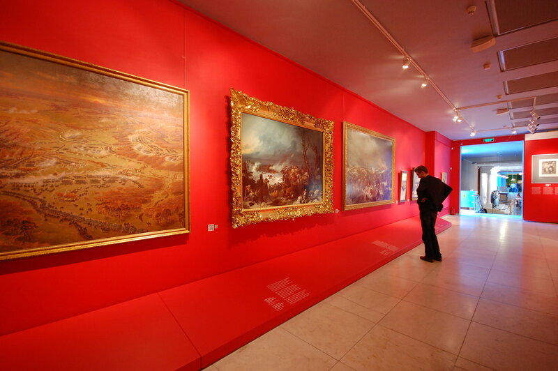 Сайт музея бородинская панорама