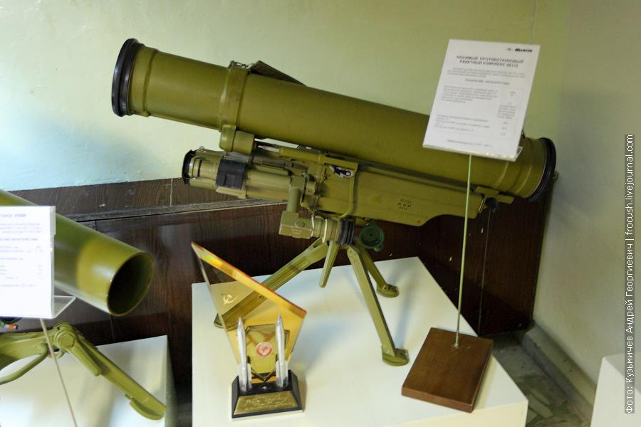 Носимый противотанковый ракетный комплекс 9К115