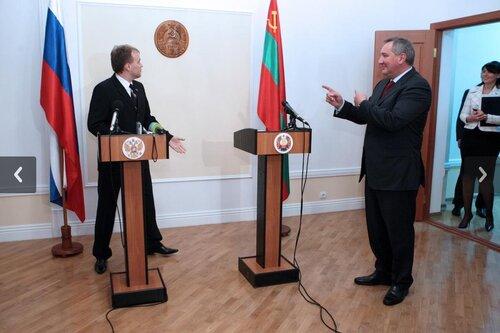 Рогозин посетит Молдову на годовщину создания ПМР