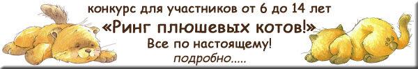 Ринг плюшевых котов осень 2013