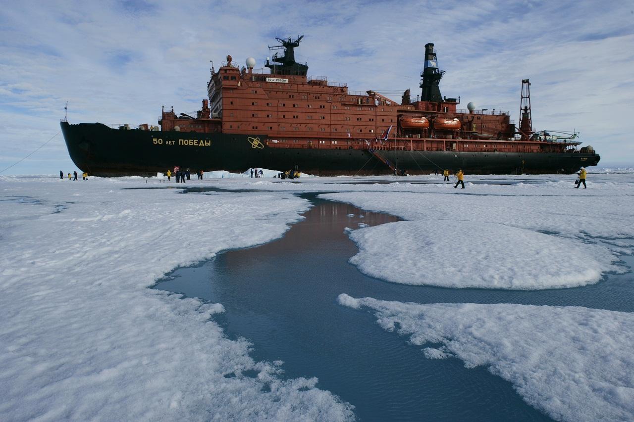 Обои 50 лет победы, россия, судно, атомный ледокол, 10521, Атомфлот. Разное foto 14