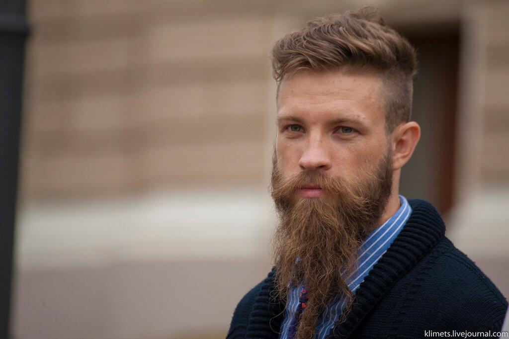 Открытка борода