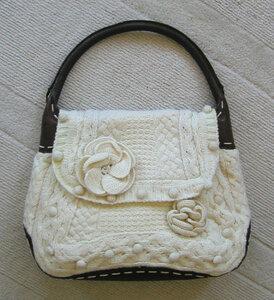 Морозный сад - сумка от MCQueen