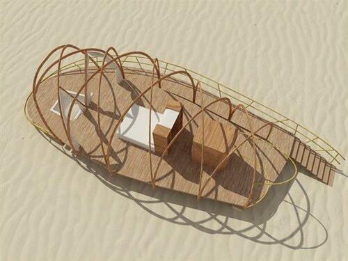 Сборные домики для отдыха