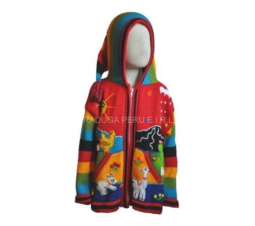 Вязаные свитера для детей