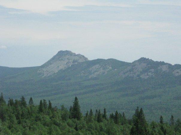 Вид на Большой Таганай (14.05.2013)