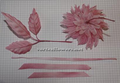Как сделать цветок из ткани своими руками.