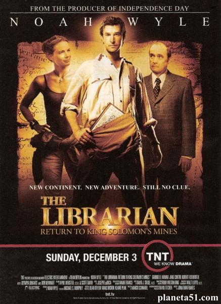 Библиотекарь 2: Возвращение в Копи Царя Соломона / The Librarian: Return to King Solomon's Mines (2006/HDRip)