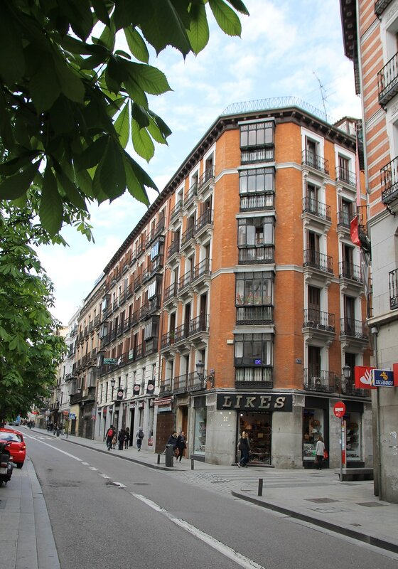 Мадрид. Улица Аточа