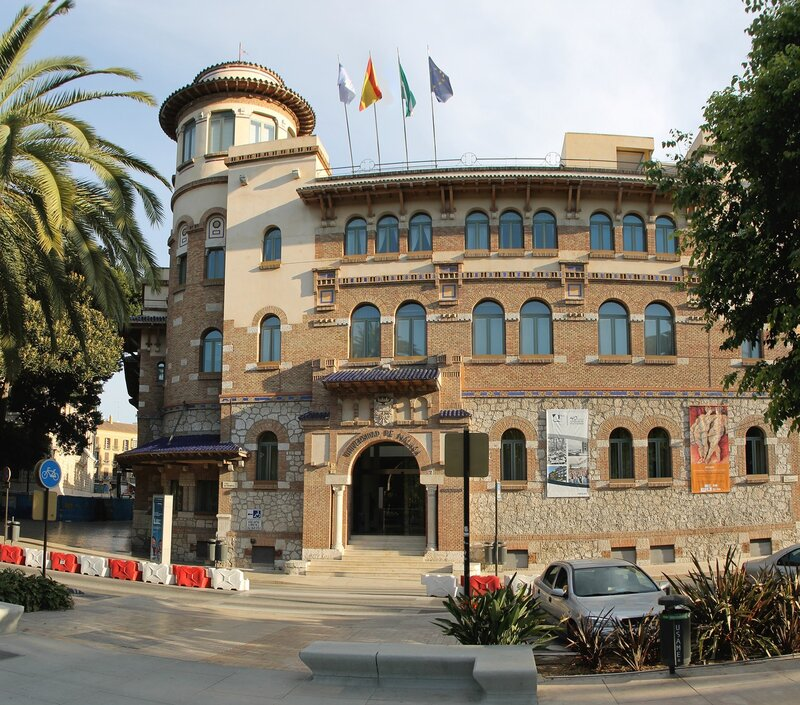 Малага. Здание почты и телеграфа (Correos)