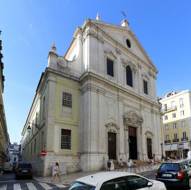 Lisbon. Church of the Martyrs (Basílica dos Mártires)