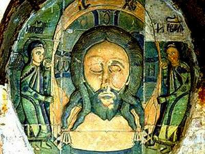 Керамические иконы Борисоглебского собора в Старице (16 в.)