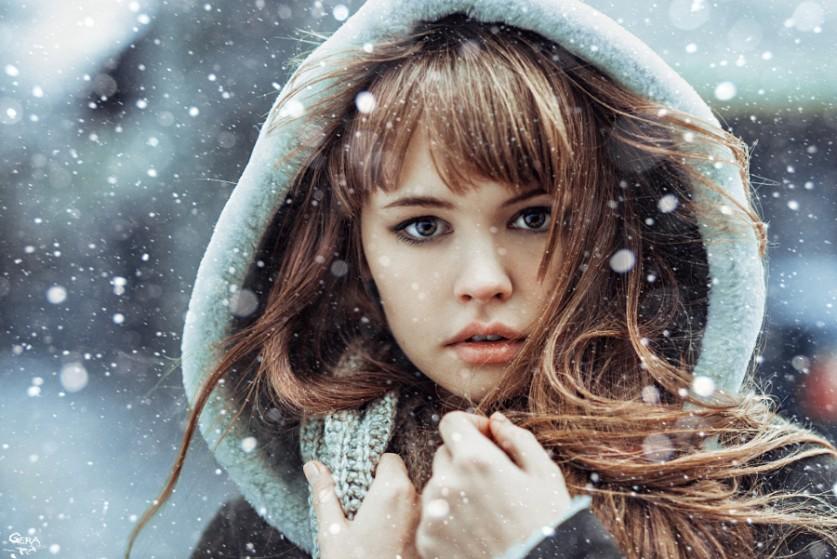 Снегопад. Автор фото: Автор фото: Георгий Чернядьев