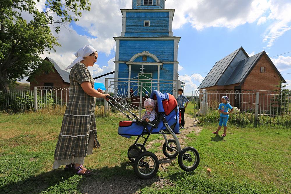 в селе Малое Ишуткино...