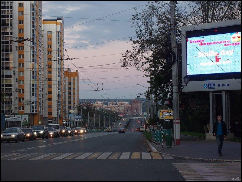 Вид в сторону Октябрьского района