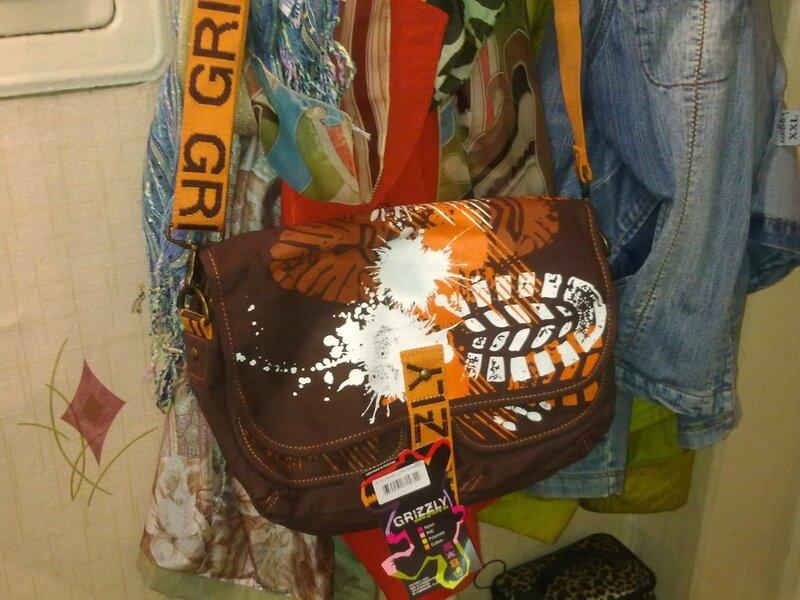 молодежная сумка Grizzly коричневая артикул: СМ-1022
