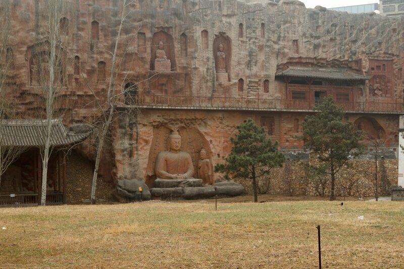 Реконструкция гротов Дуньхуана, Парк национальностей, Пекин