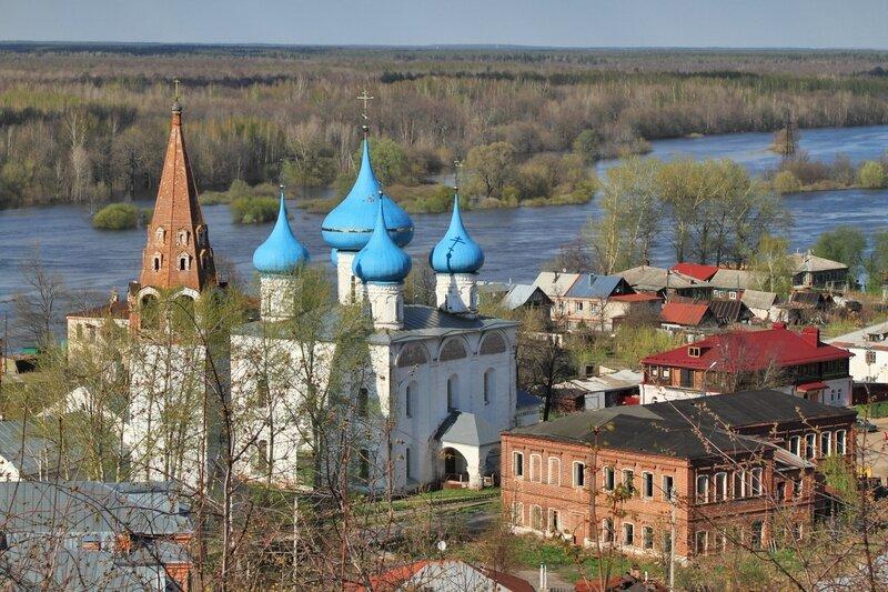Благовещенский собор и колокольня, Гороховец