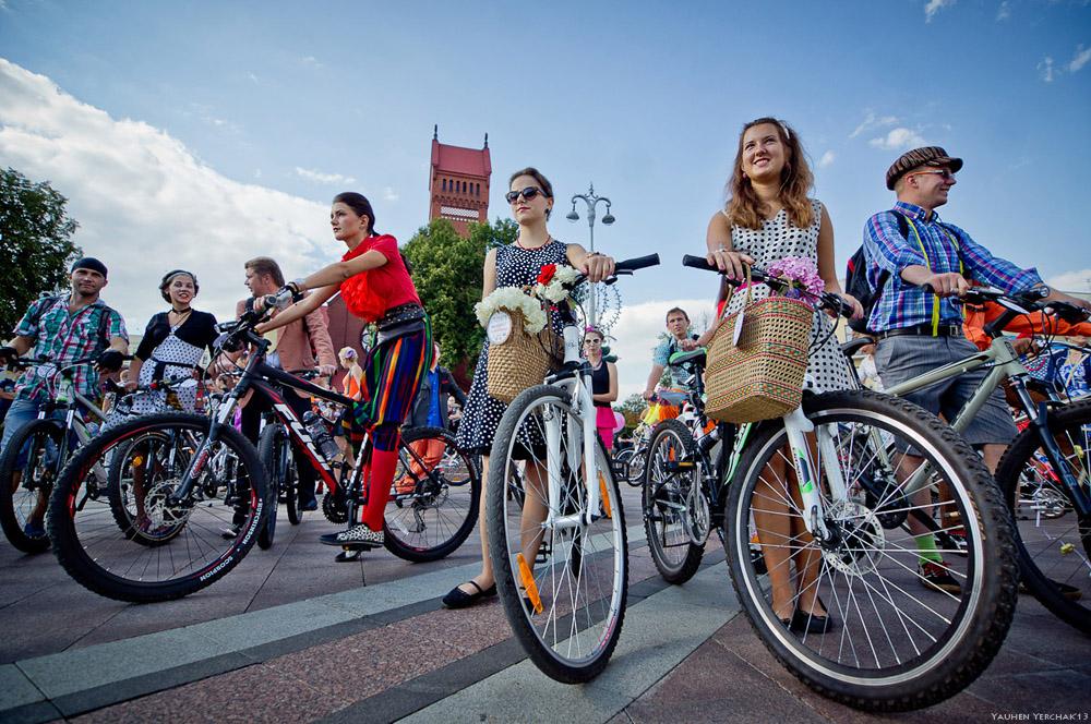 стиляги, велопробег, велосипеды, велостиляги, фото