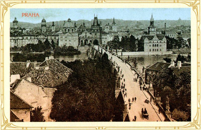 15. Старе-Место (Старый Город) и Карлов мост. 1922 год