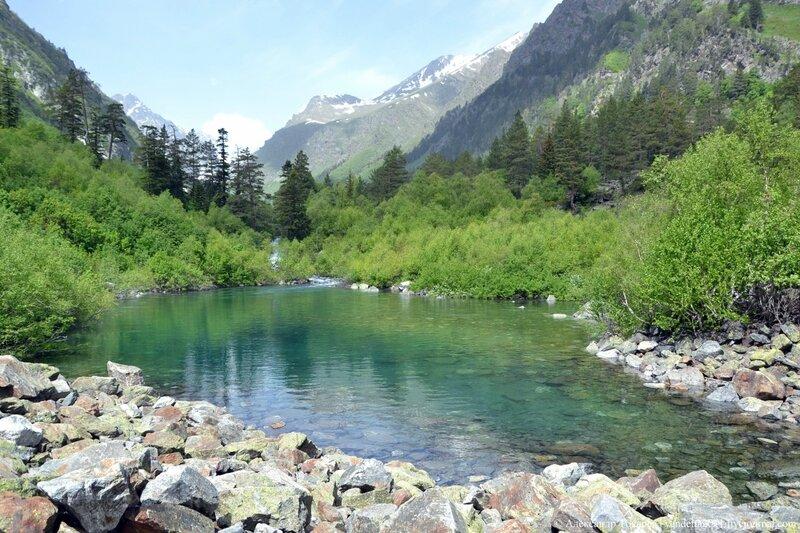 Первое Бадукское озеро