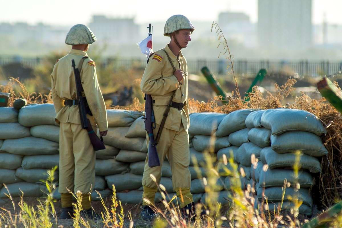 Разгром японцев на берегах Амура: Реконструкция событий времен 2-й мировой войны (6)
