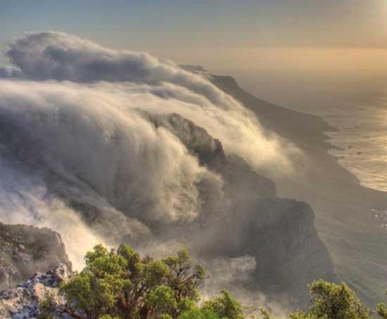 Волны из облаков