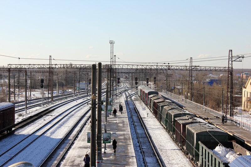 Станция Михнево