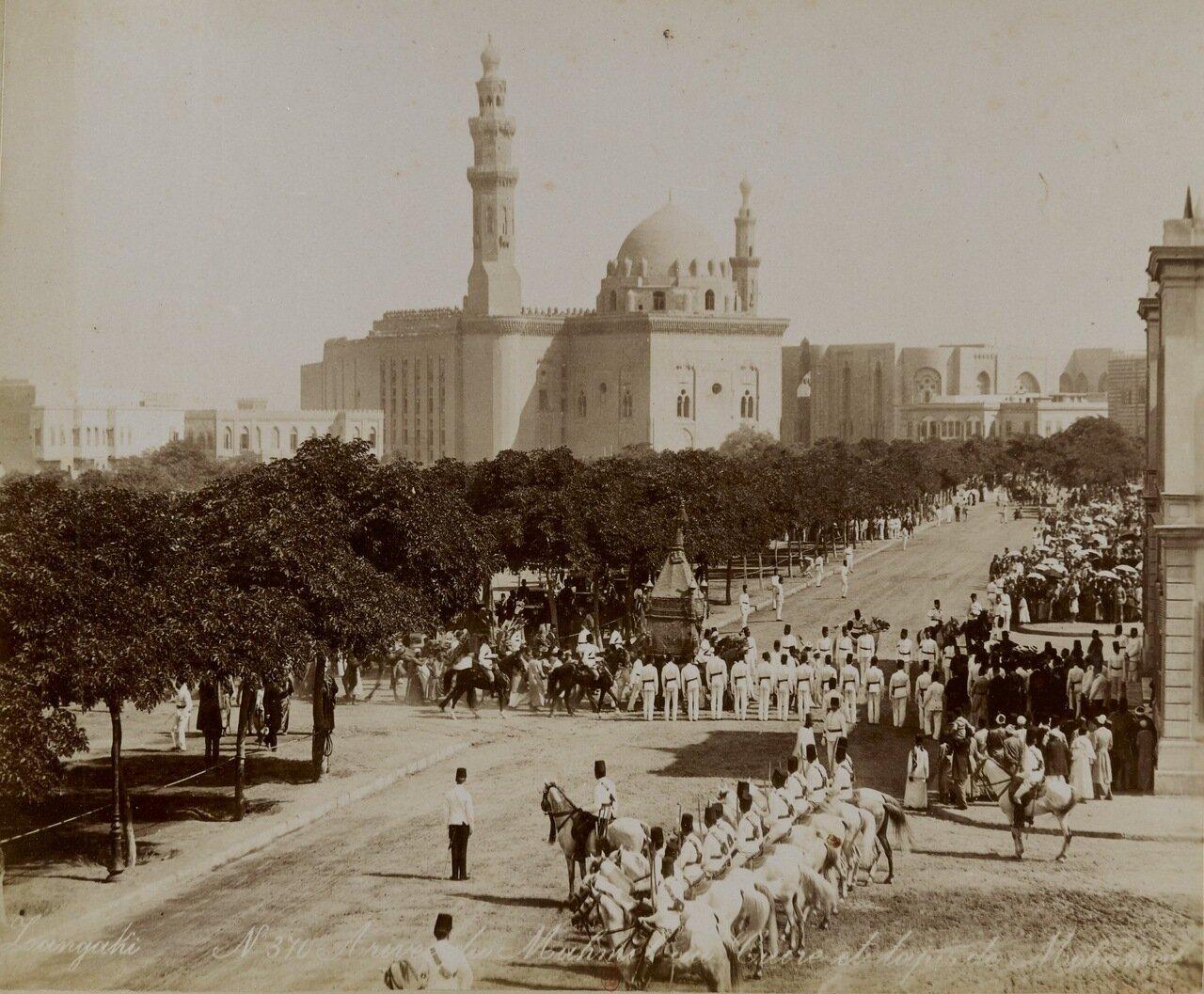 Каир. Шествие в медресе султана Хасана