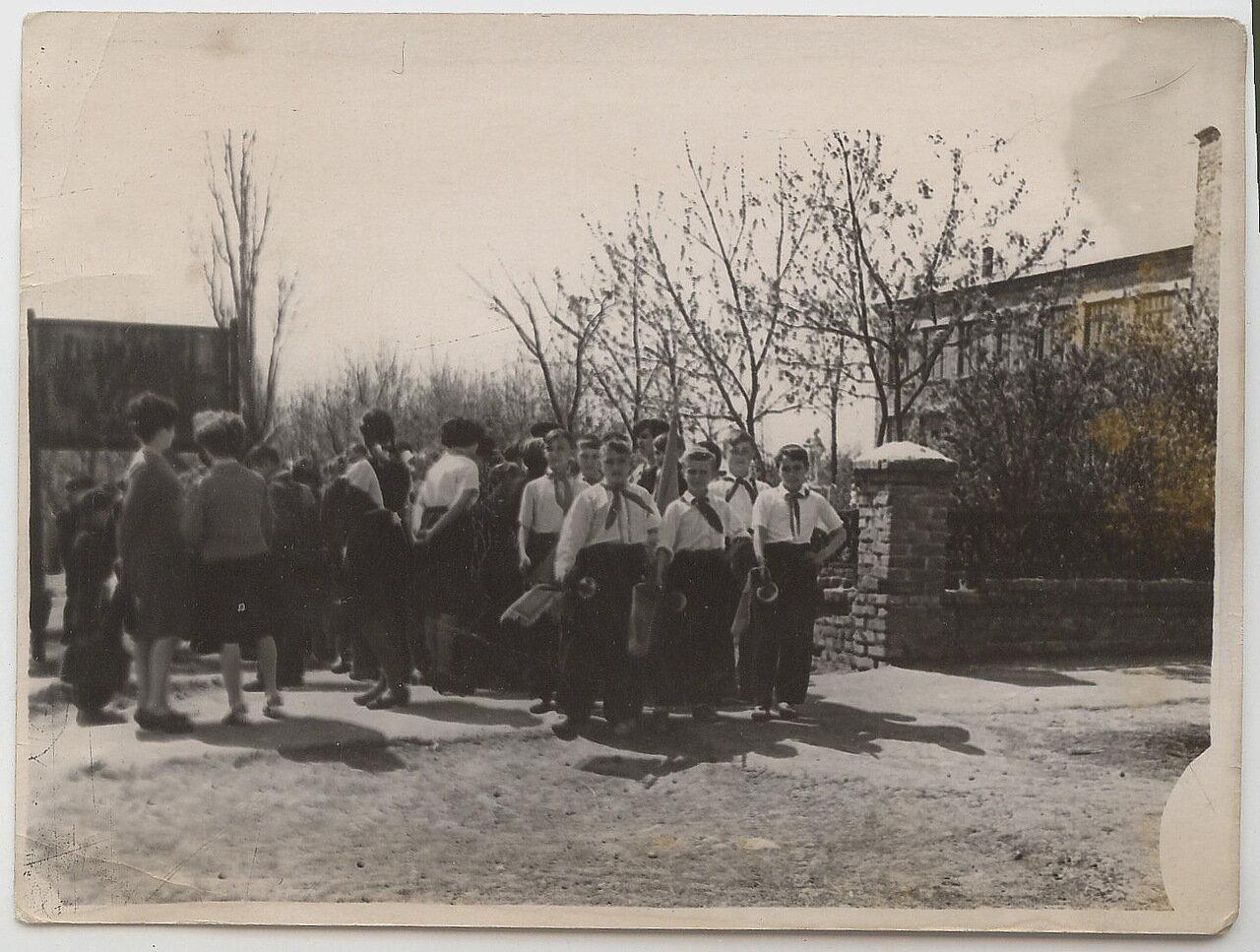 1962. День пионеров