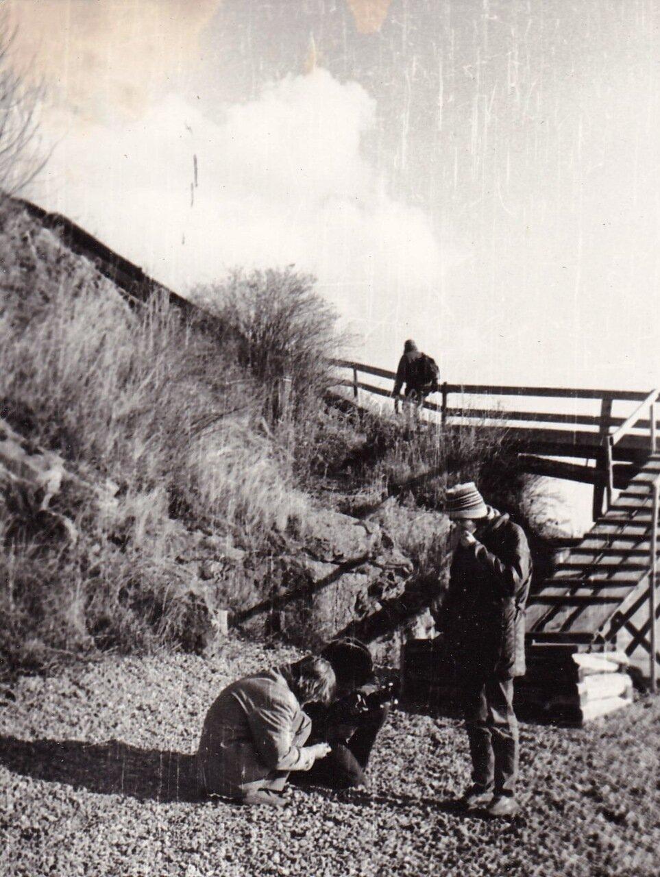 1989. На Байкале. Янка уже наверху