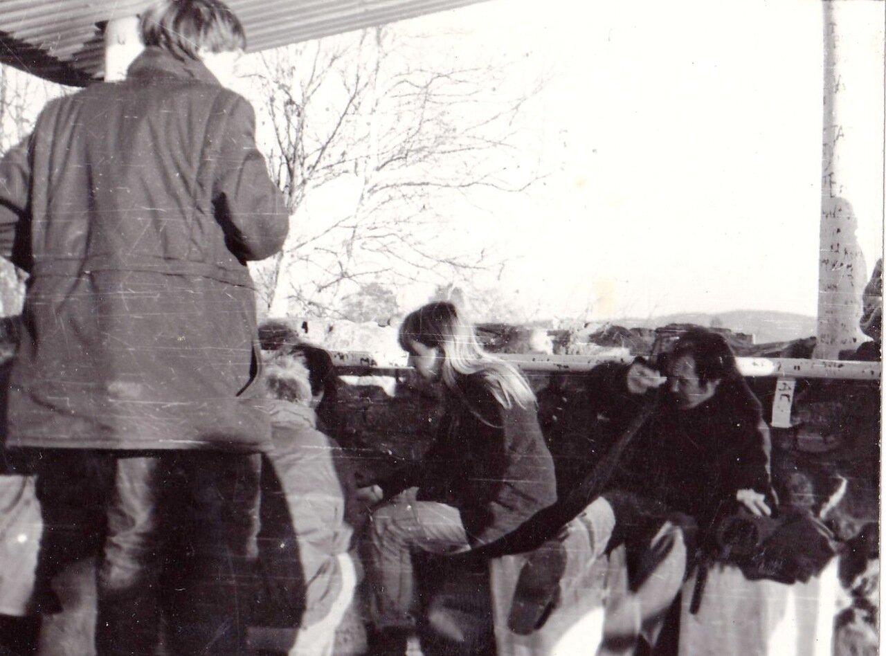 1989. На Байкале. Пик Черского