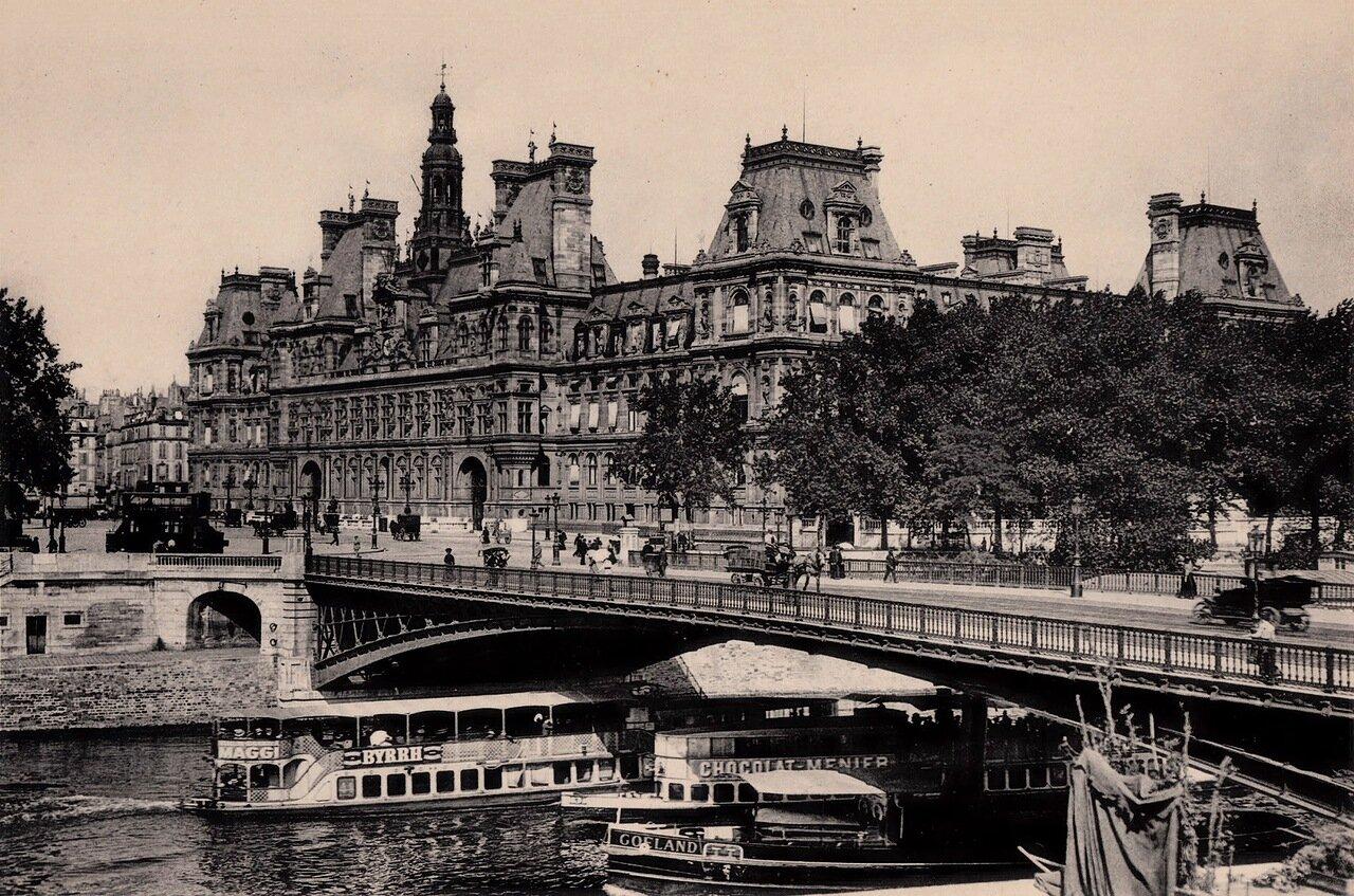 1910-е. Мост Арколь и Отель-де-Вилль