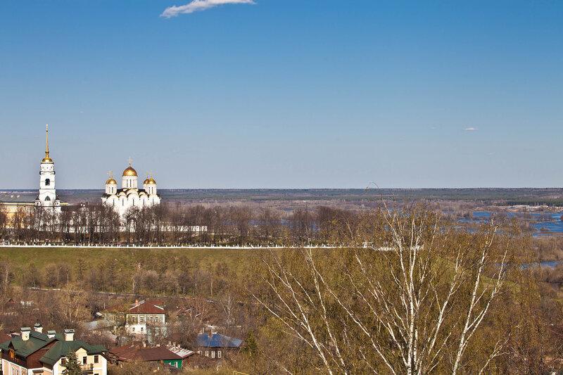 Владимир - панорама со смотровой площадки