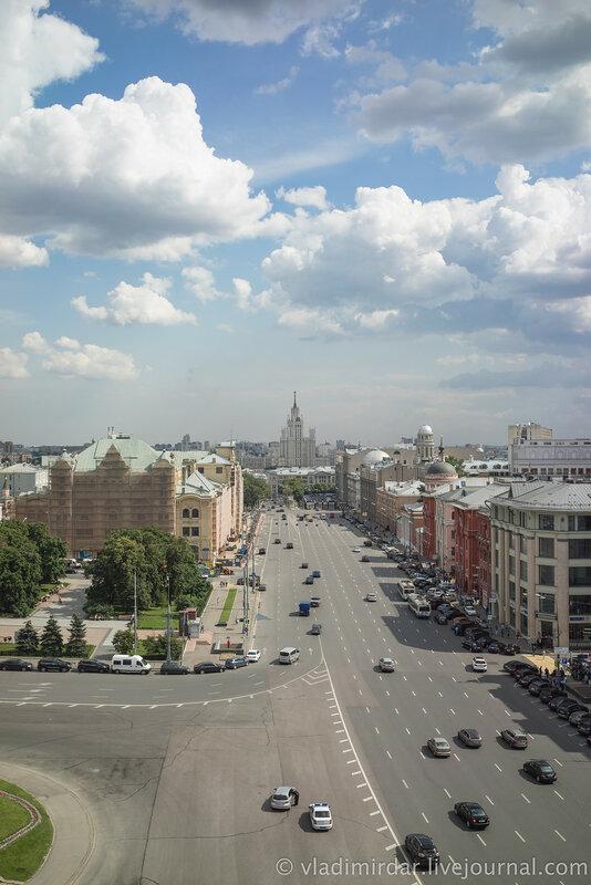 Лубянская и Новая площади Москвы