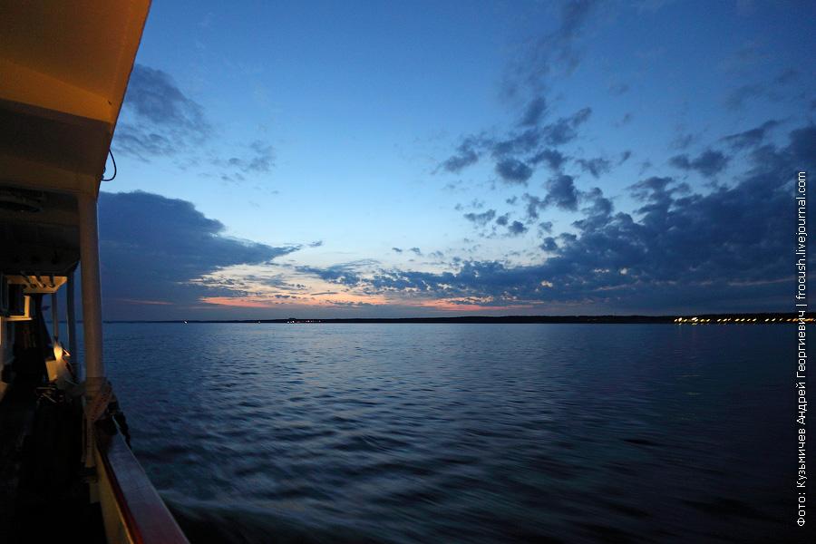 вечернее фото Волга