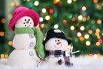 Festive snowman