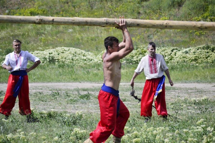 Запорожские казаки прошли «9 порогов»: сдвигали воз весом в 2 тонны и метали камни (ФОТОРЕПОРТАЖ), фото-2