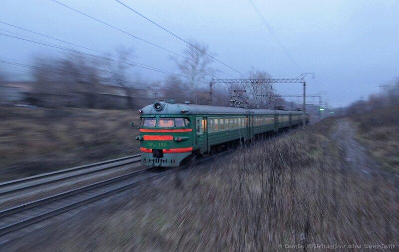 Электропоезд ЭР9ПК-160