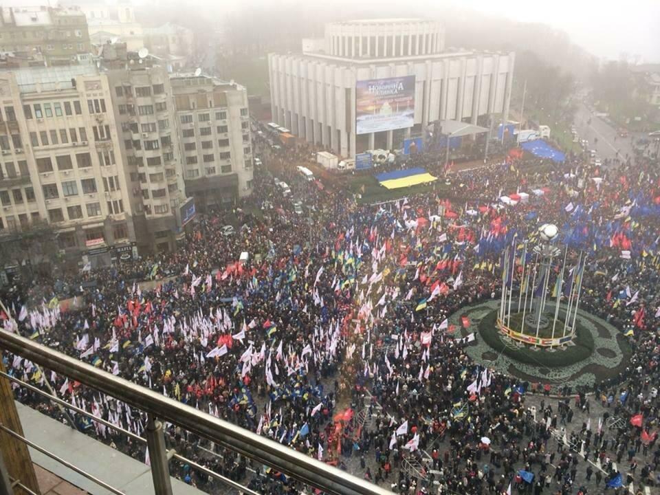 200 тысяч на Евромайдане