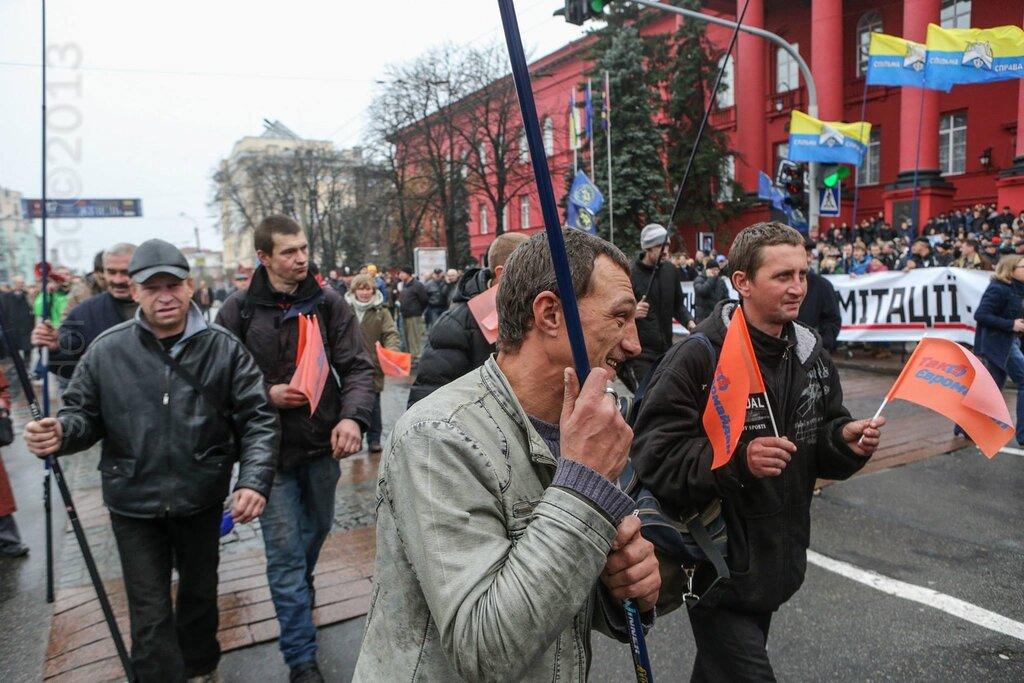 Гей-марш на Евромайдане в Киеве