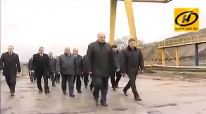 Лукашенко наводит порядок