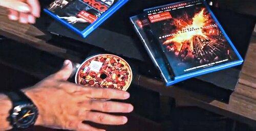 DVD–диски с ароматом пиццы